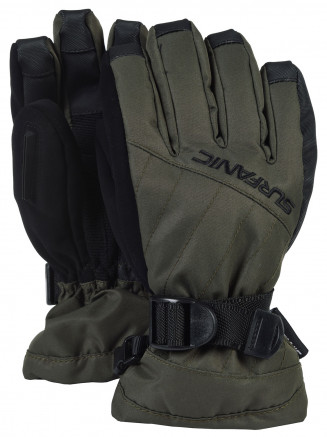 Boys Snapper Surftex Glove Green
