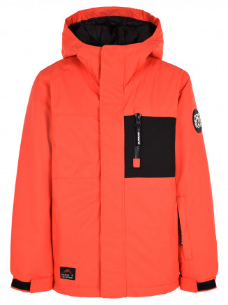 Boys Ramble Surftex Jacket Orange