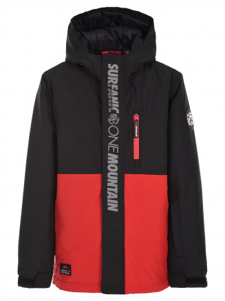 Boys Carve Surftex Jacket Red