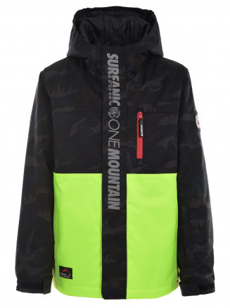 Boys Carve Surftex Jacket Green