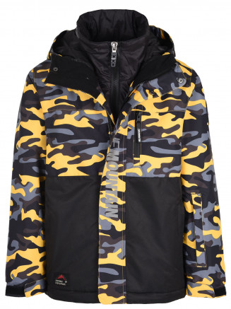 Boys Mission Surftex Jacket Yellow