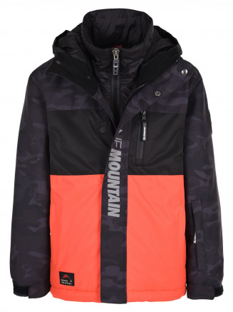 Boys Mission Surftex Jacket Orange