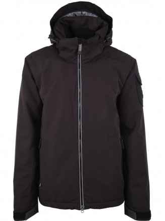Mens Carbon Surftex Ski Jacket Black