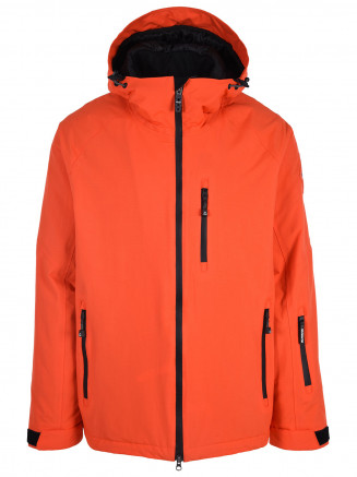 Mens Apex Hypadri Ski Jacket Orange