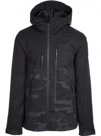 Mens Ultra Hypadri Ski Jacket Black
