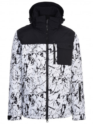 Mens Missile Surftex Ski Jacket White
