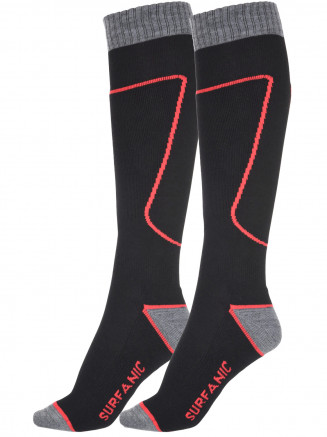 Mens Pro Sock 2 Pack Black
