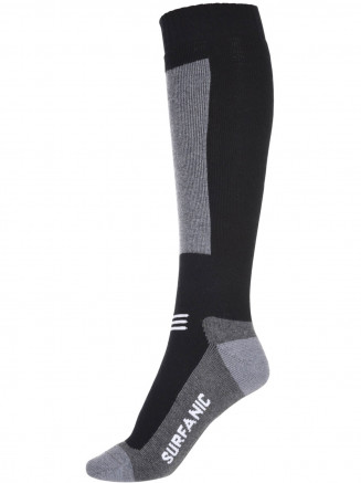Mens Endurance Merino 1 Pack Sock Black