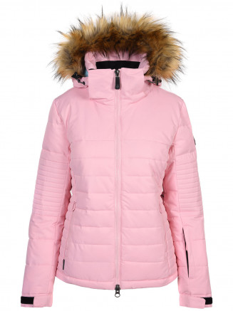 Womens Poppy Surftex Ski Jacket Pink