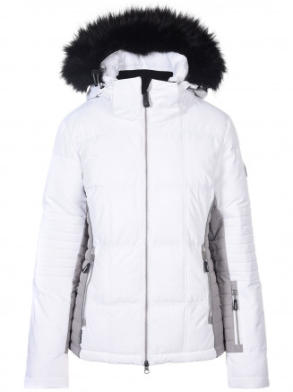 Womens Zeta Surftex Jacket White