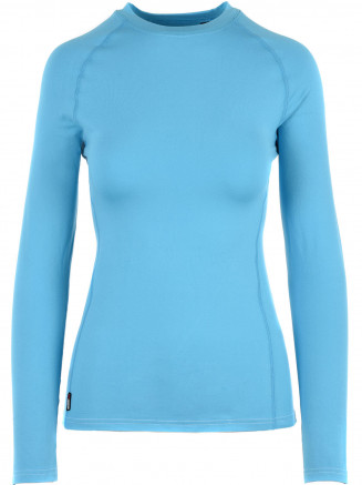 Womens CarbonDri Cozy Crewneck Blue