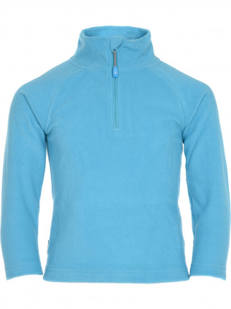 Girls Warm Zip Micro Fleece Blue