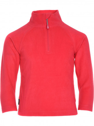 Girls Warm Zip Micro Fleece Pink