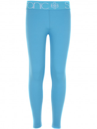 Girls Cozy Long John Blue