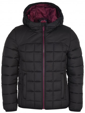 Girls Foxy Padded Jacket Black