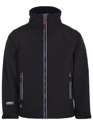 Boys Rocko Softshell Black