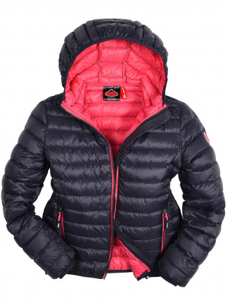 Girls Dove Lightweight Down Jacket Blue