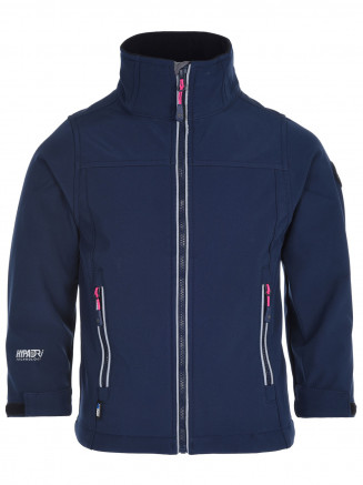 Girls Buzzle Softshell Blue