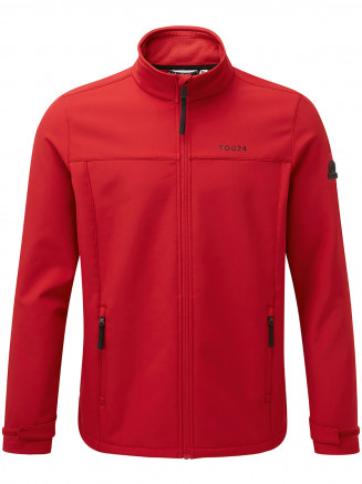 Mens Feizor Softshell Jacket Red