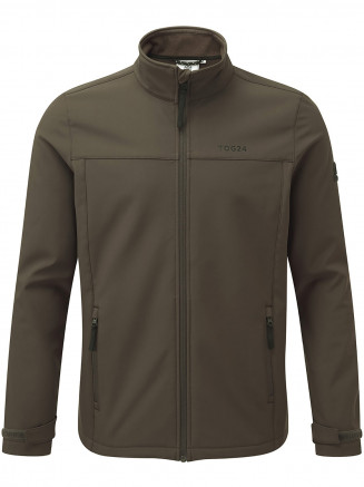 Mens Feizor Softshell Jacket Green