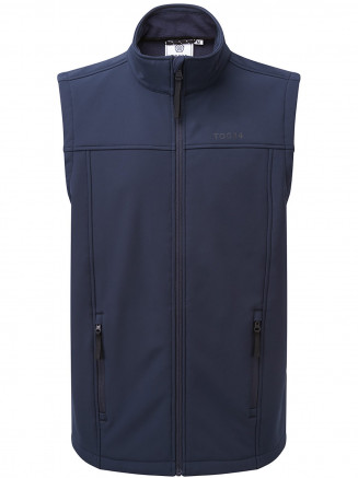 Mens Feizor Softshell Gilet Blue