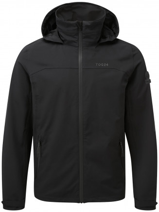 Mens Sykes Performance Waterproof Jacket Black