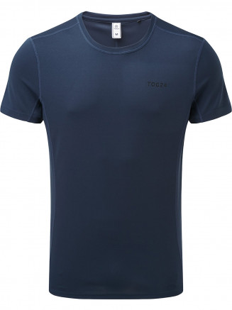 Mens Blevin Performance T-shirt Blue