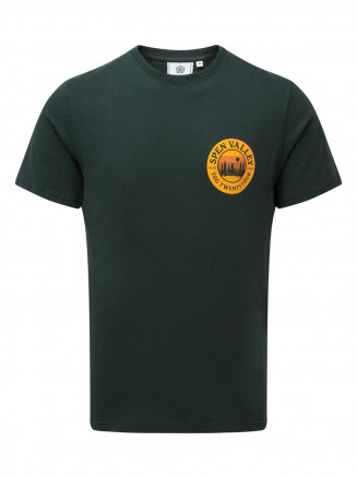 Mens Malton Graphic T-shirt Green