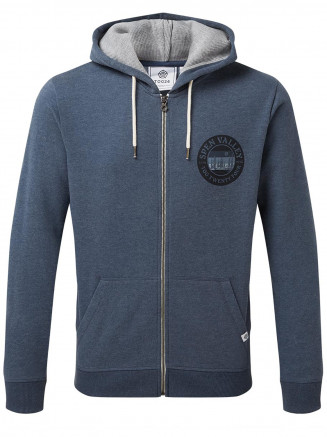 Mens Hetton Zip Hoody Grey
