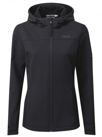 Womens Keld Softshell Hoody Black
