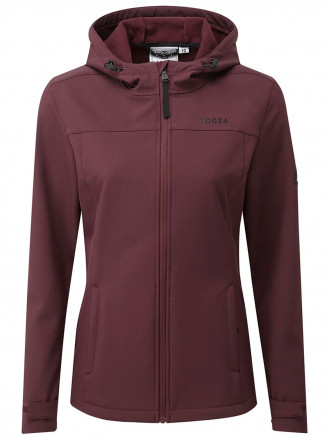Womens Keld Softshell Hoody Red