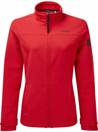 Womens Keld Softshell Jacket Red