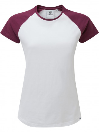 Womens Saunders T-shirt White