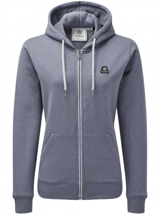 Womens Hatty Zip Hoody Grey