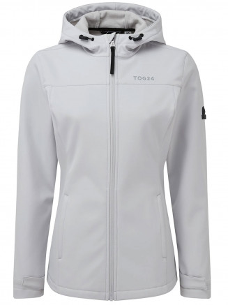 Womens Keld Softshell Hoody Grey