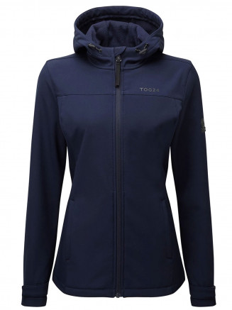 Womens Keld Softshell Hoody Blue