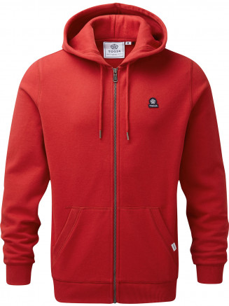 Mens Alden Hoody Red