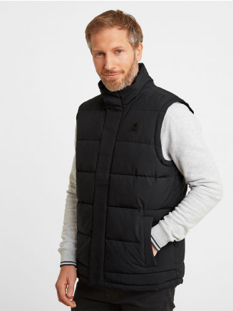 Mens Barmston Insulated Gilet Black
