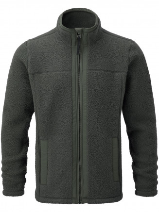 Mens Pyrah Sherpa Fleece Jacket Blue