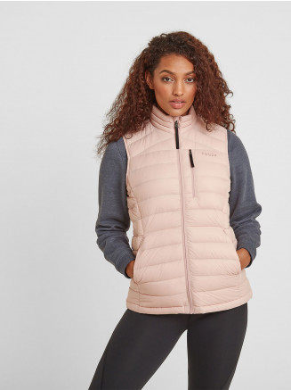 Womens Drax Down Gilet Pink