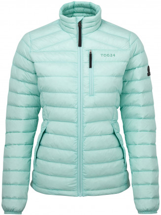 Womens Drax Funnel Down Jacket Blue