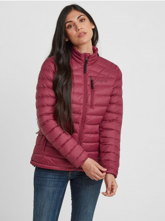 Womens Drax Funnel Down Jacket Pink