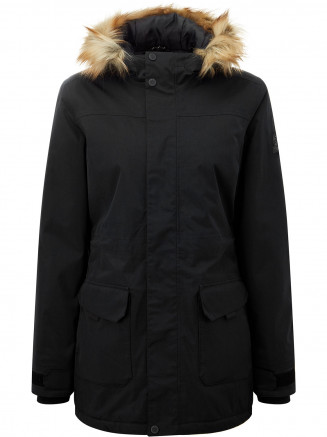 Womens Alderidge Waterproof Parka Black