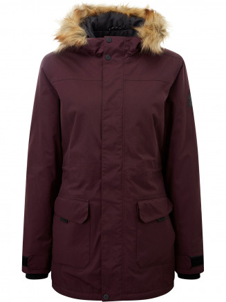 Womens Alderidge Waterproof Parka Purple