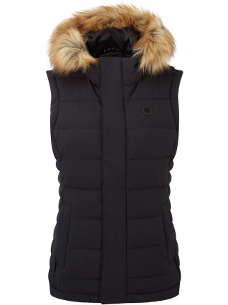 Womens Cowling Insulated Gilet Black
