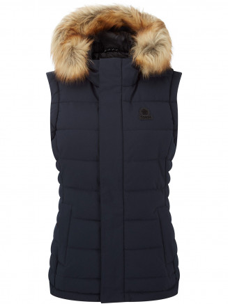 Womens Cowling Insulated Gilet Blue