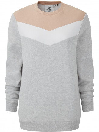 Womens Daphne Crew Neck Jumper Pink