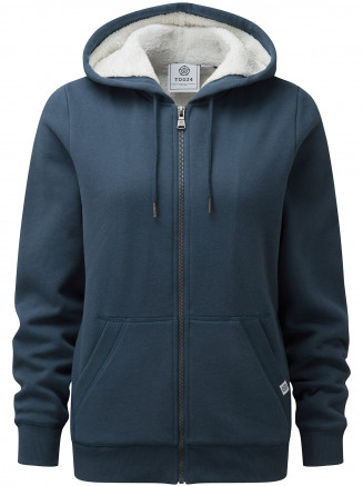 Womens Finch Hoody Blue