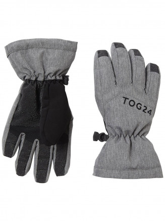 Mens Womens Lockton Ski Gloves Grey