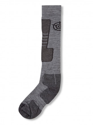 Mens Womens Ellmau Ski Socks Grey
